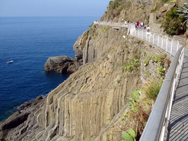 Put yourself on this walkway hanging from the cliffs of the Cinque Terre. This place really is as beautiful as you have heard it is. Come see for yourself this March.