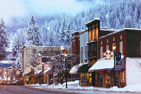 Rossland, B.C, at the base of Red Mountain, is one of the coolest, user friendly ski towns anywhere. It has plenty of excellent resaurants and pubs to keep you happy for many nights.