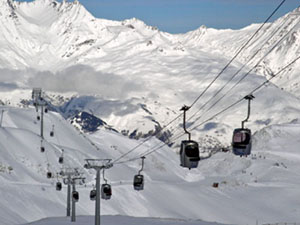 Trois Vallee is the biggest ski area in the world. One lift pass accesses terrain you can not ski in a month!