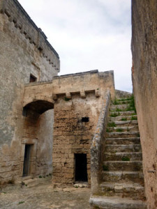 Olive oil was like gold 500 years ago. This place was a fortress as well as a farm.