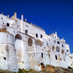 """Ostuni.  Now you know why it is called the """"White City""""."""