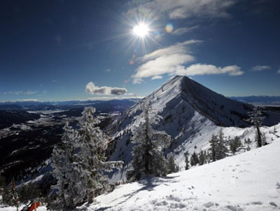 Bridger Bowl offers huge terrain and a beautiful, uncrowded, skiing... the way we like it.