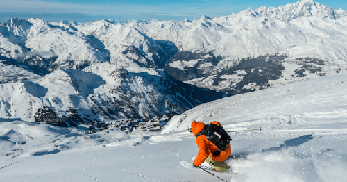 This is not only the biggest resort in the world. It is also one of the best in the world. The skiing for ALL LEVEL of skier is excellent and the high altitude assures good snow quality.