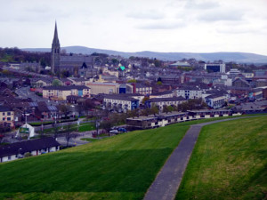 Derry, site of so much turmoil in the 1990's troubles in Northern Ireland, is a lovely walled city that is fascinating to visit. And that is exactly what we will do on Day 7 of your tour.