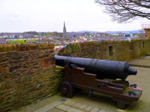 Derry is one of few remaining walled cities in the world. Our tour will walk along the top of the wall.